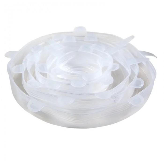 Картинка для Посуда и инвентарь Remiling Крышка силиконовая 6 шт.