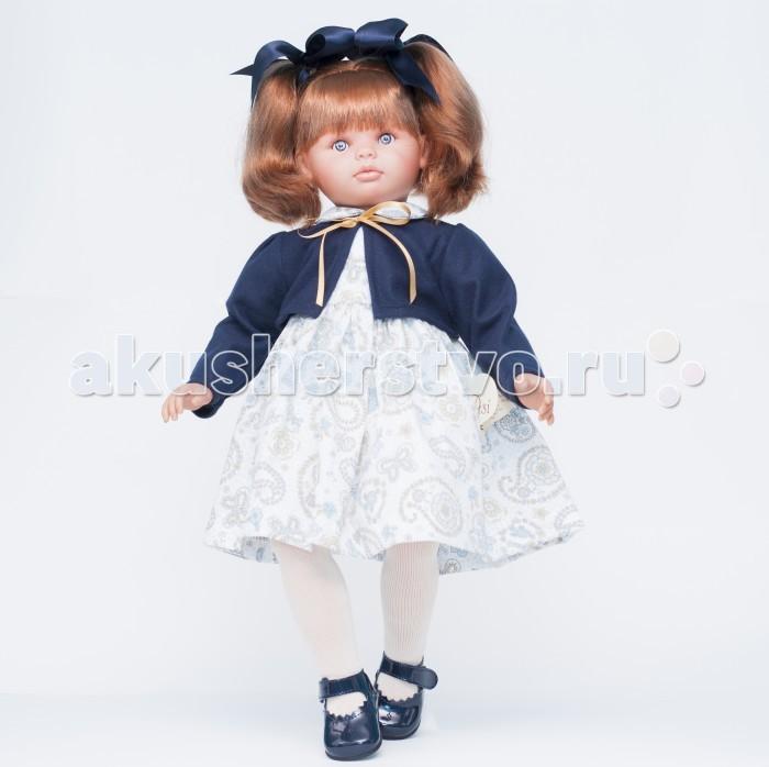 ASI Кукла Пепа 60 см 283010Кукла Пепа 60 см 283010Кукла, размер 60 см, тело мягконабивное, голова, руки и ноги из винила, рыжие волосы собраны в два хвостика, в синем комплекте, в красивой подарочной коробке.<br>