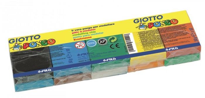 Всё для лепки Giotto Patplume восковой пластилин, классические цвета 10 цветов х 50 г пластилин fila giotto patplume пластилин 12 цв х 50 гр page 5