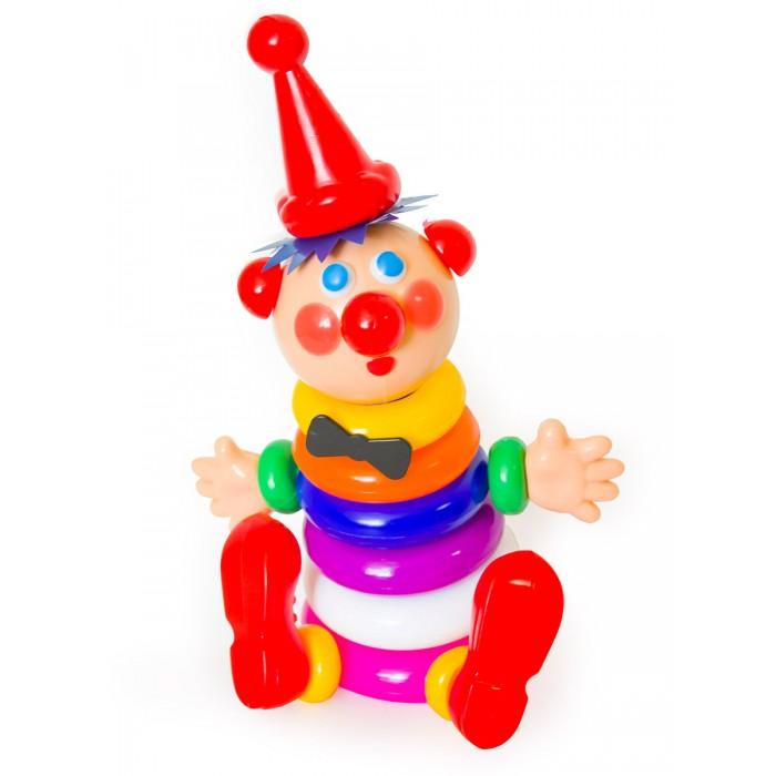 Купить Развивающие игрушки, Развивающая игрушка Пластмастер Пирамида Клоун 13202