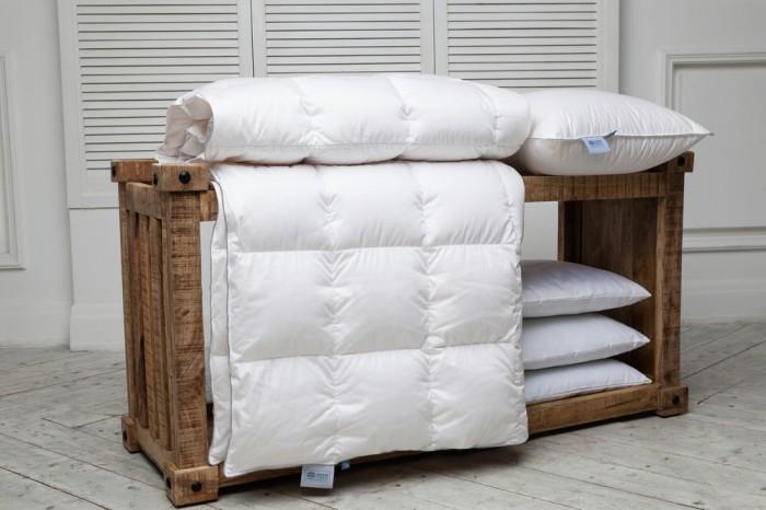 Купить Одеяла, Одеяло German Grass стеганое Gray Familie Down всесезонное 240x260 см