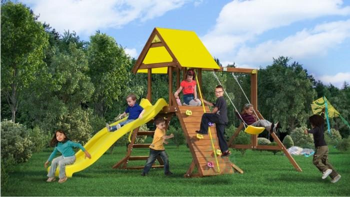 Игровые комплексы MoyDvor Детская площадка Пират