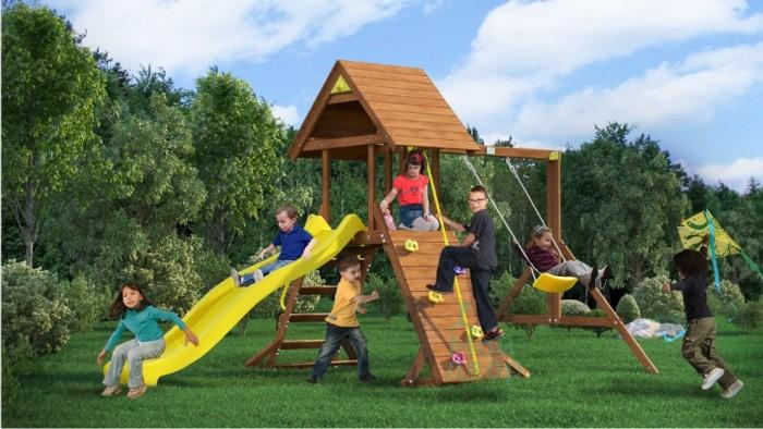 Игровые комплексы MoyDvor Детская площадка Крепость свободы