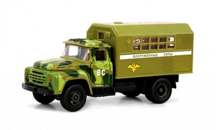 Фото - Машины Serinity Toys Инерционная машинка Зил Вооруженные силы машины maya toys машинка крутая тачка