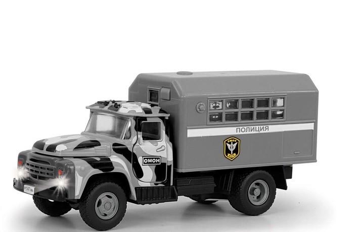 Фото - Машины Serinity Toys Инерционная машинка Зил Омон Полиция машины maya toys машинка крутая тачка
