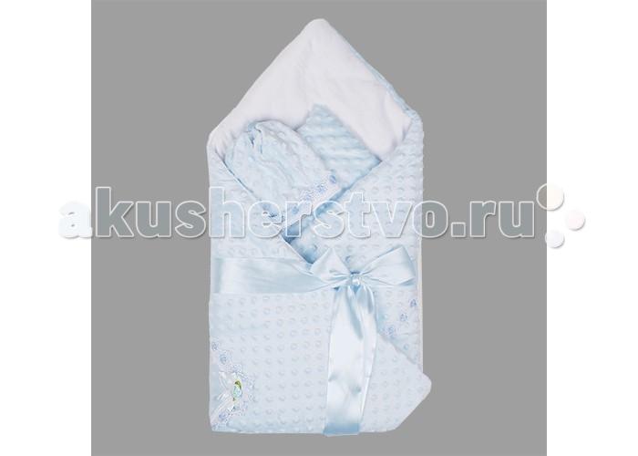 Комплект на выписку Арго Одеяло на выписку 055Одеяло на выписку 055Арго Одеяло на выписку Незабудка - идеальный выбор для выписки из роддома.   Особенности: Одеяло - конверт на выписку выполнен из вельбоа.  Размер одеяла 90x90.  Украшено атласной лентой.  В комплект с одеялом идет шапочка.<br>