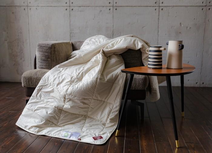 Одеяла, Одеяло German Grass стеганое Hemp Down всесезонное 220x240 см  - купить со скидкой