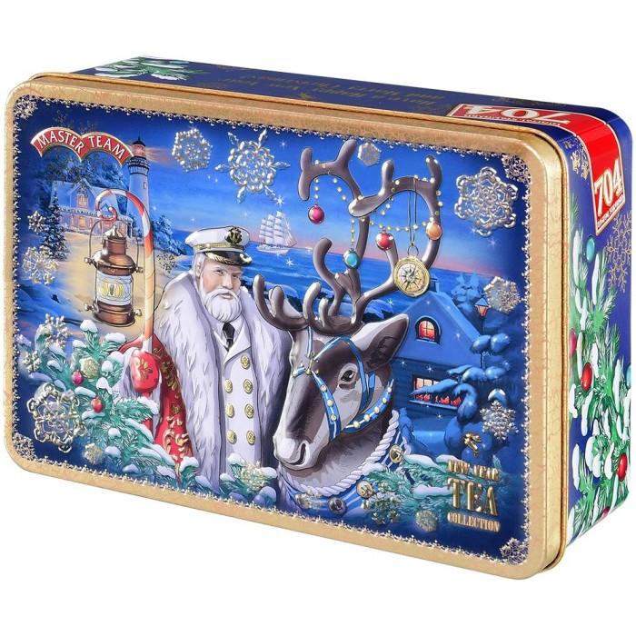 Купить Чай, Master Team Набор черного чая Шкатулка Новогодняя сказка 250 г
