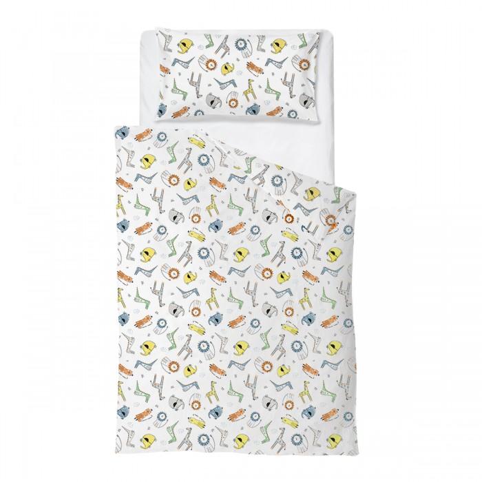 Купить Постельное белье 1.5-спальное, Постельное белье Baby Nice (ОТК) Сафари (3 предмета) CH112/9