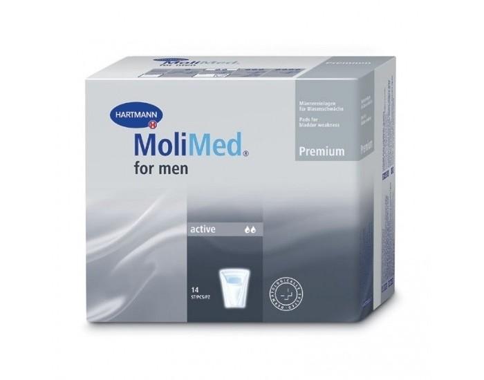 Подгузники для взрослых Hartmann Урологические прокладки MoliMed Premium for men active 14 шт.