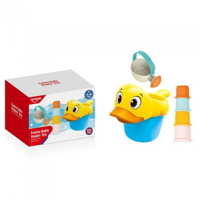 Фото - Игрушки для ванны Haunger Набор игрушек для ванной Уточка 6 шт. коврики для купания munchkin набор для ванной 6 шт набор для ванной playgo киты