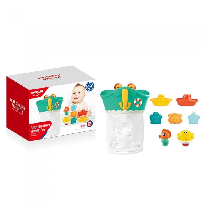 Купить Игрушки для ванны, Haunger Набор игрушек для ванной Якорь 7 шт.