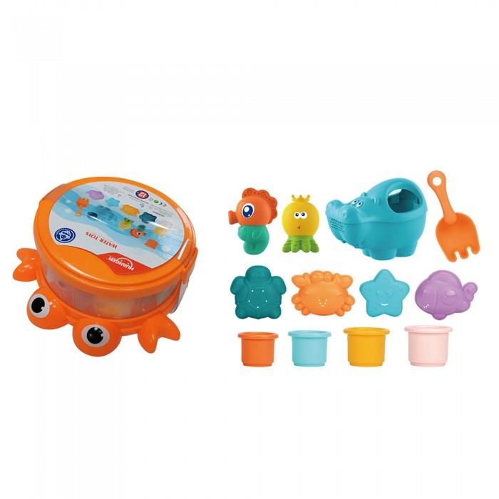 Купить Игрушки для ванны, Haunger Набор игрушек для ванной Краб 12 шт.