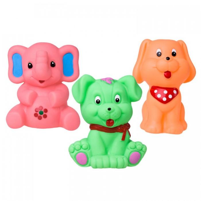 Купить Игрушки для ванны, Hencz Toys Набор игрушек для ванны Animals Squeaky 3 шт.