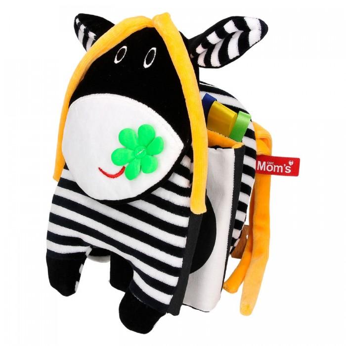 Развивающая игрушка Hencz Toys Книжка-бампер в кроватку Корова