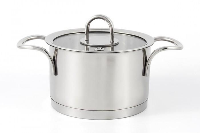 Купить Посуда и инвентарь, TimA Кастрюля матовая с крышкой Fashion 1.2 л