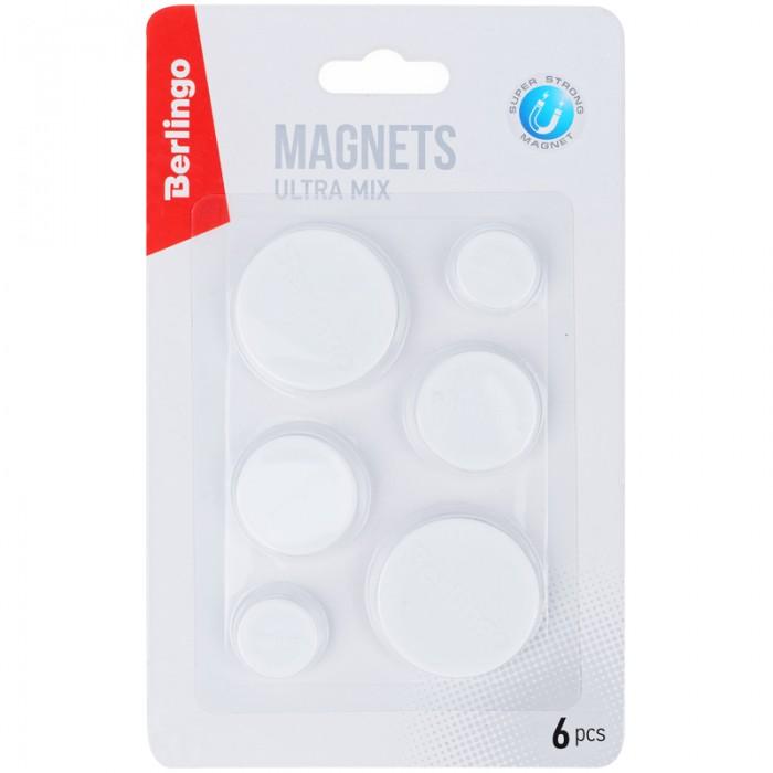 Фото - Канцелярия Berlingo Магниты для досок усиленные Ultra berlingo набор маркеров для досок 4 шт bmc_40509