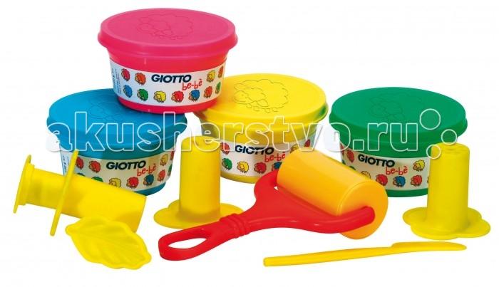 Giotto be-be Bucket мягкая паста для моделирования инструменты