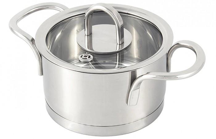 Купить Посуда и инвентарь, TimA Кастрюля матовая с крышкой Fashion 2.6 л