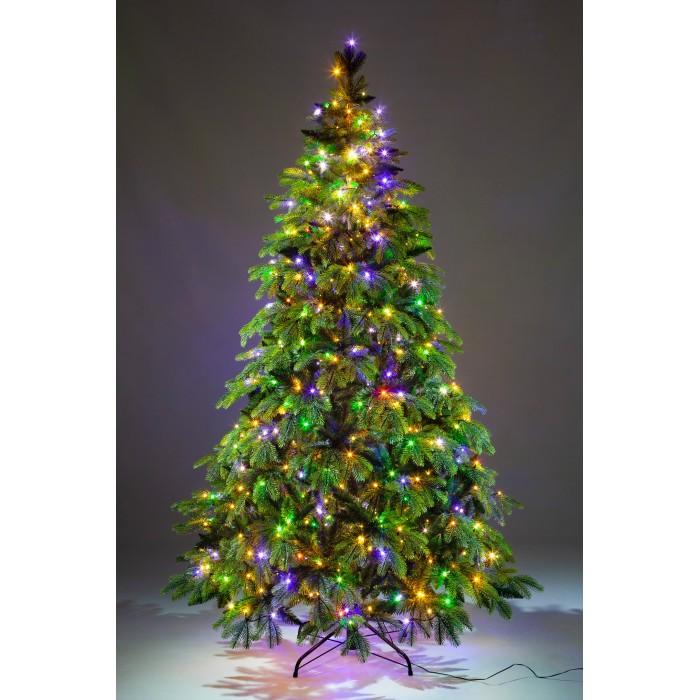 Фото - Искусственные елки Crystal Trees Искусственная Ель Власта зеленая 240 см искусственные елки crystal trees искусственная ель габи заснеженная с вплетенной гирляндой 240 см