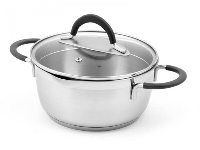 Купить Посуда и инвентарь, TimA Кастрюля с 2-мя носиками и крышкой Идеал 2.8 л