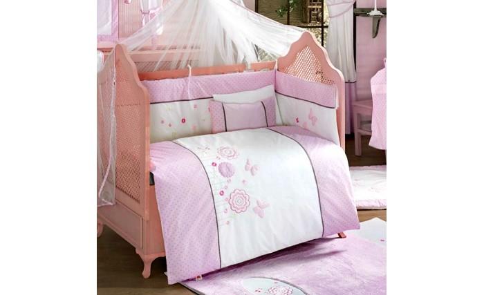 Картинка для Комплект в кроватку Kidboo Sweet Flowers (4 предмета)