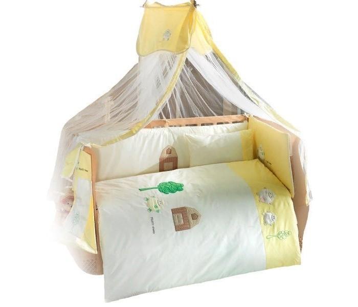 Купить Комплекты в кроватку, Комплект в кроватку Kidboo Fluffy Sheep (6 предметов)