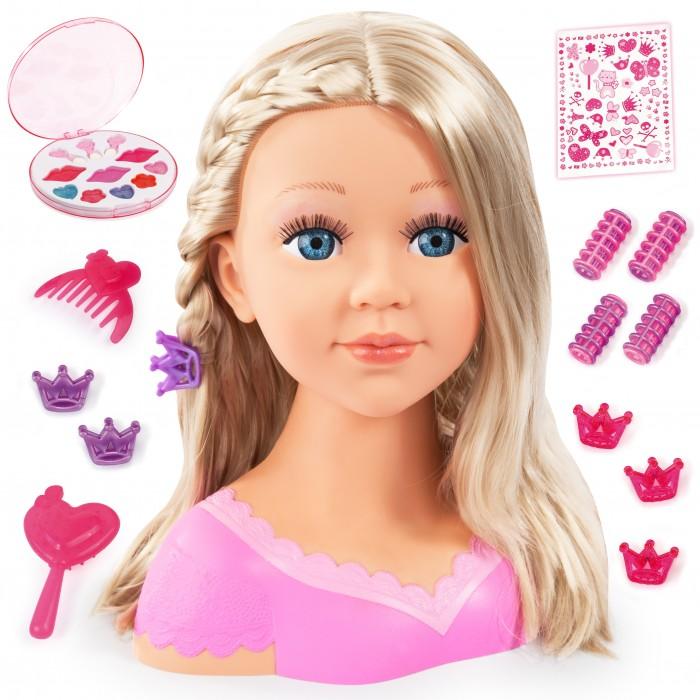 Bayer Кукла Модель с косичкой для причесок с косметикой 27 см