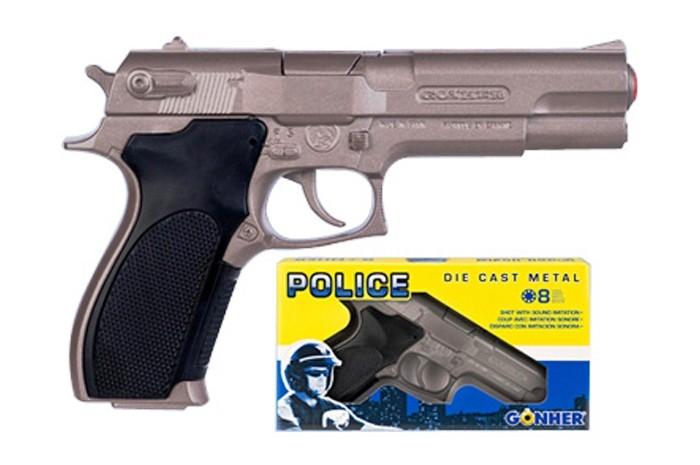 Gonher Игрушка Пистолет Police (механический звук) 45/0