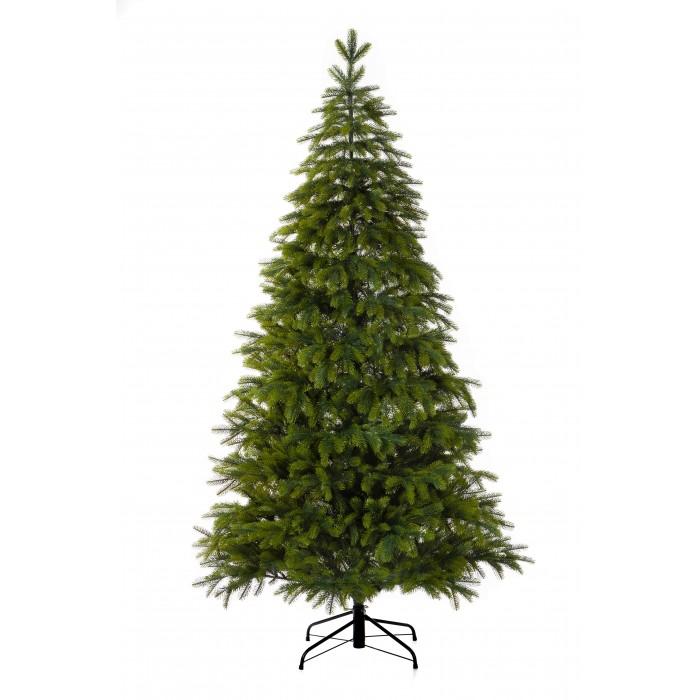 Картинка для Crystal Trees Искусственная Ель Атланта Премиум зеленая  240 см