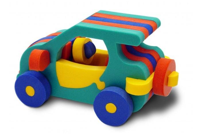 Конструкторы Флексика Автомобильчик флексика пазл для малышей геометрия цвет основы красный