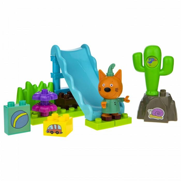 Картинка для Конструкторы Три кота Компот на детской площадке