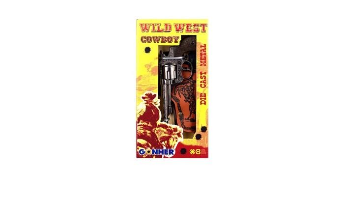 Игрушечное оружие Gonher Игрушка Набор Ковбой 201/G игровой набор gonher ковбойский 2 револьвера на 8 пистонов 2 кобуры звезда шерифа 158 0