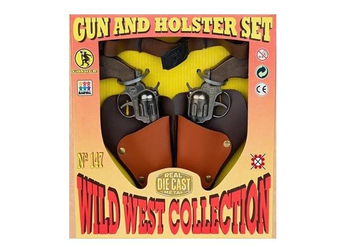 Игрушечное оружие Gonher Игрушка Набор Дикий запад (без пистонов) 147/0 villa игровой набор дикий запад цвет черный 2 предмета