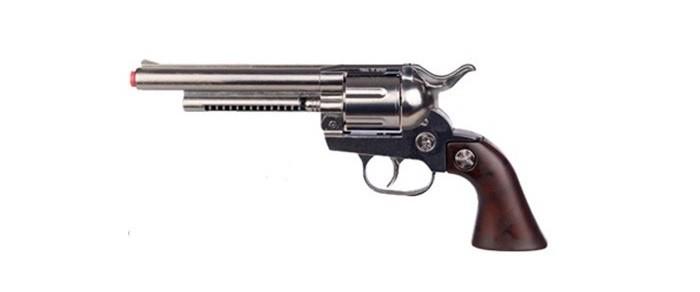 Игрушечное оружие Gonher Игрушка Ковбойский револьвер (металл) 121/0 игровой набор gonher ковбойский 2 револьвера на 8 пистонов 2 кобуры звезда шерифа 158 0