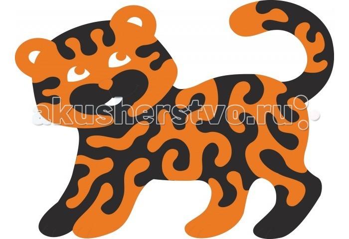 Пазлы Флексика Мозаика мягкая Тигренок разноцветная мозаика тигренок на парашюте 2784