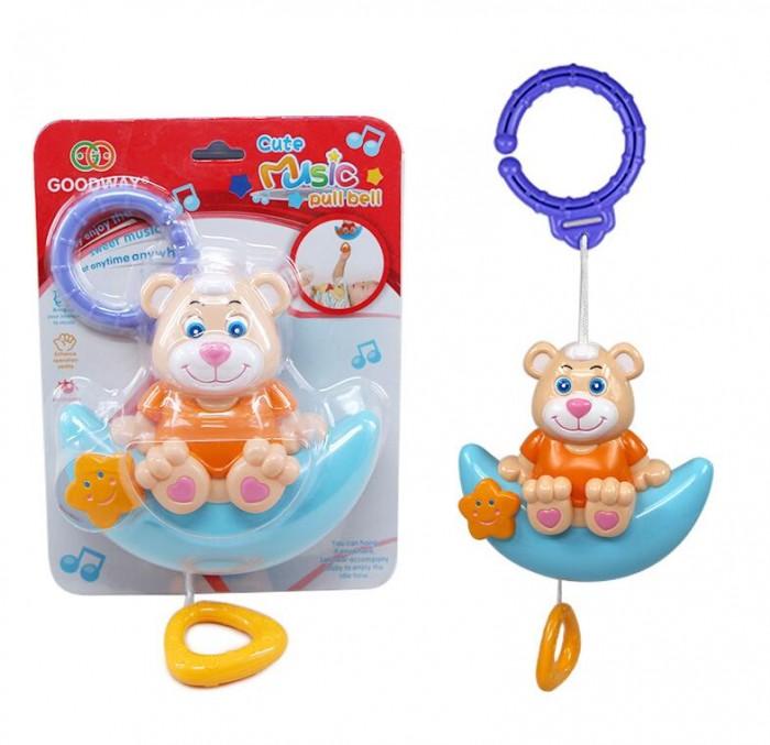 Подвесные игрушки Without музыкальная Мишка на луне