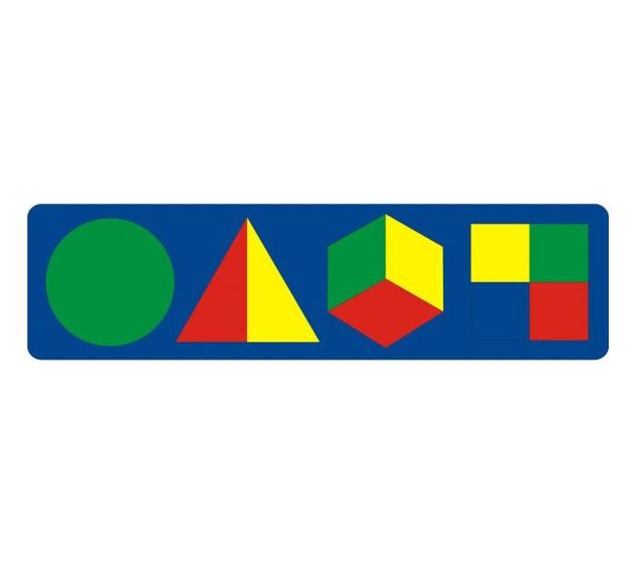 Пазлы Флексика Мозаика с геометрическими фигурами 45312 пазлы флексика мозаика сказка емеля