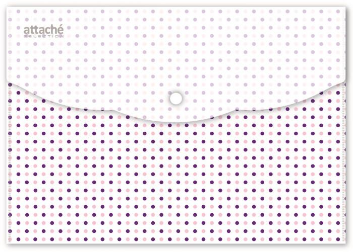 папка конверт deli bumpees ez65102 на кнопке цвет в ассортименте 1028921 формат a4 Канцелярия Attache Папка конверт на кнопке Flower Dreams А5