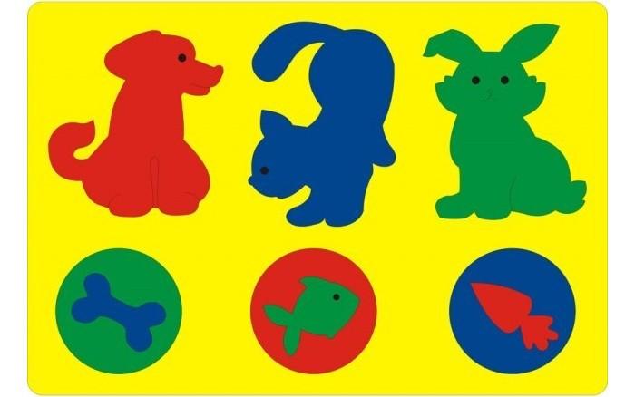 Пазлы Флексика Мозаика Животные в рамке мягкая мозаика животные из сказки