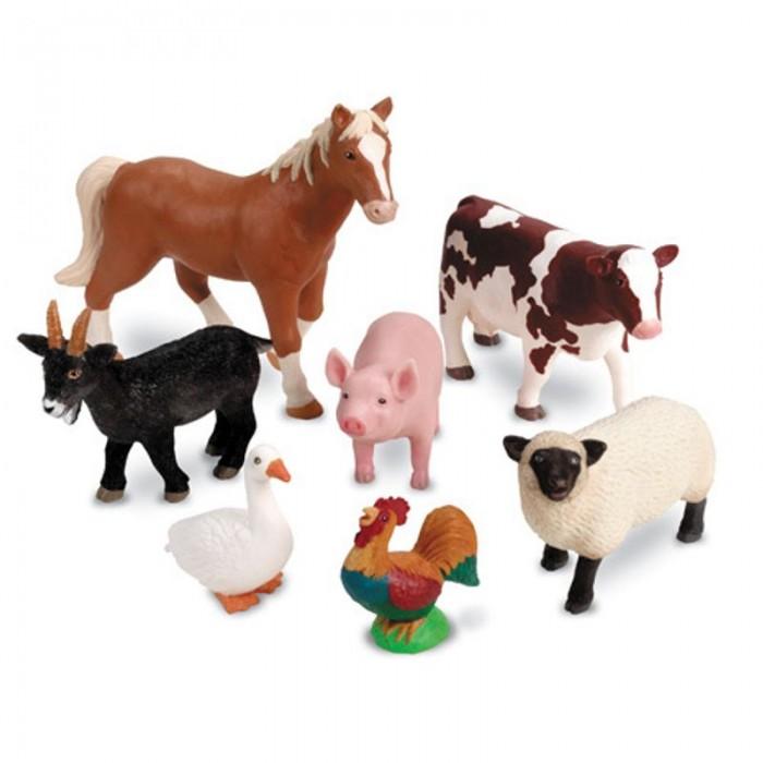 игровые фигурки Игровые фигурки Learning Resources Игровые фигурки Животные фермы