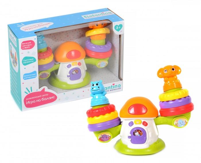 Развивающие игрушки Elefantino Центр для малышей Игра на баланс