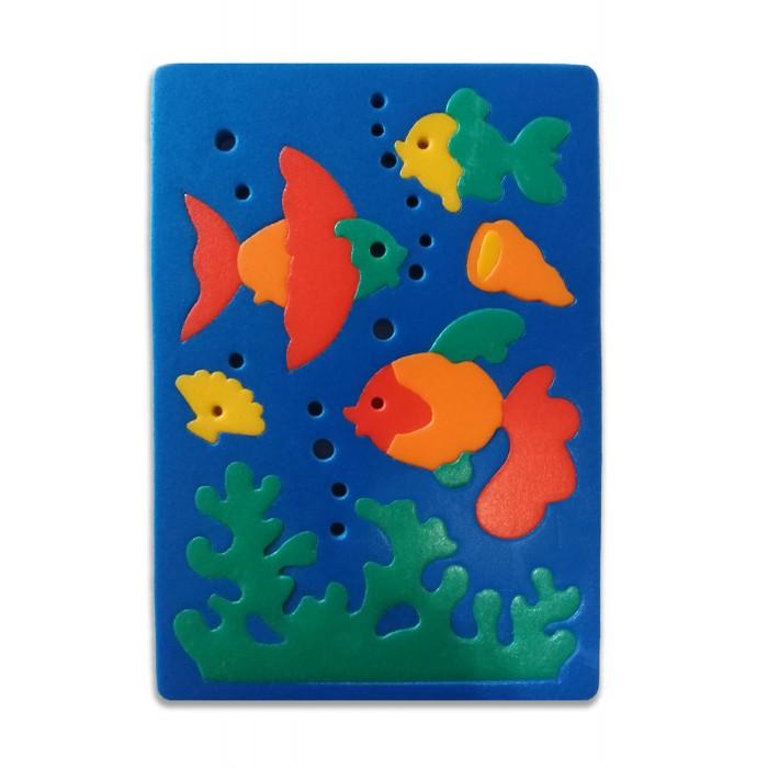 Пазлы Флексика Мозаика мягкая Рыбки обезьянки мягкая мозаика
