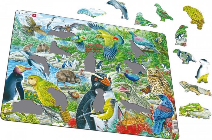 Картинка для Larsen Пазл Животные Новой Зеландии