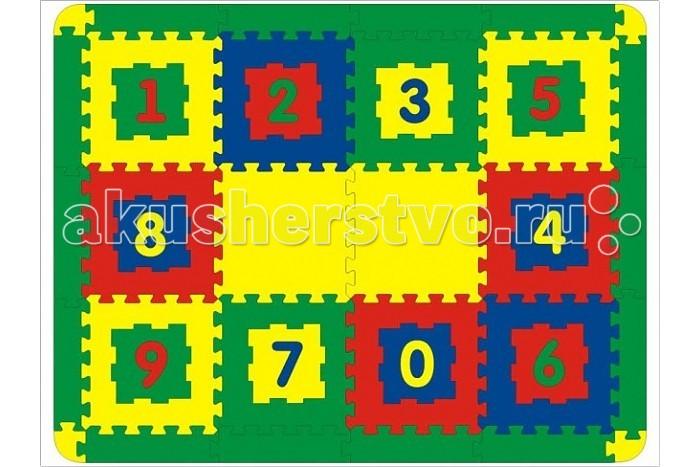 Игровые коврики Флексика 12 деталей коврик домашний sunstep цвет кремовый 120 х 170 х 4 см