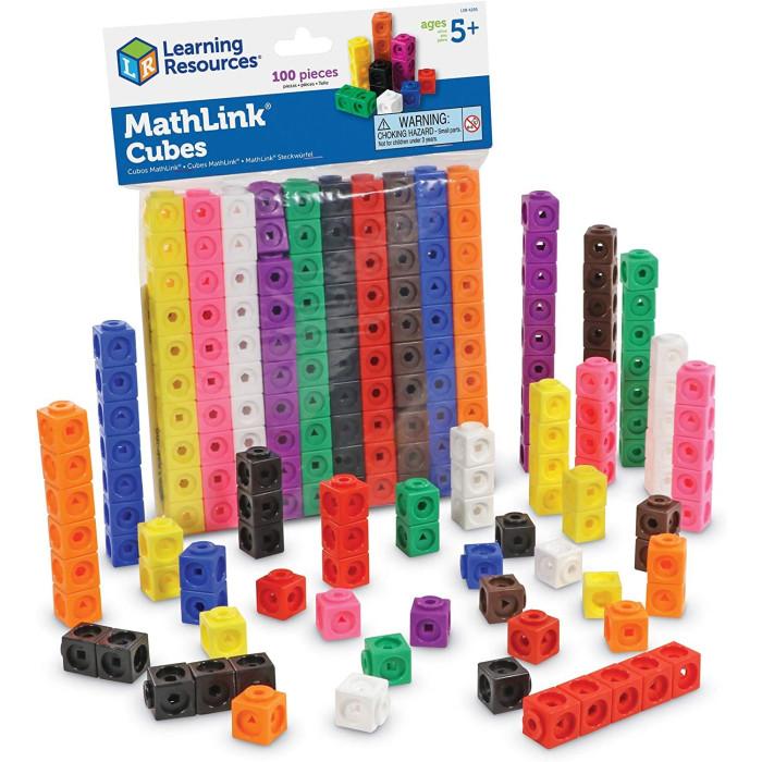 Раннее развитие Learning Resources Соединяющиеся кубики Математические связи