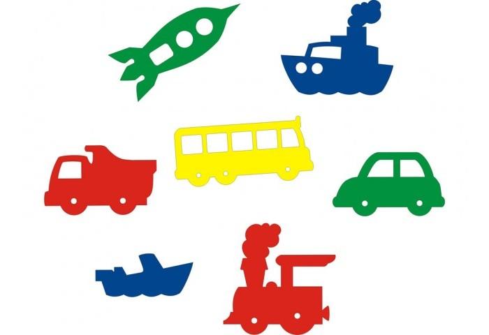 Игрушки для ванны Флексика Мозаика набор для ванны Мир транспорта игрушки для ванны мозаика синтез книжка для купания купашки кит