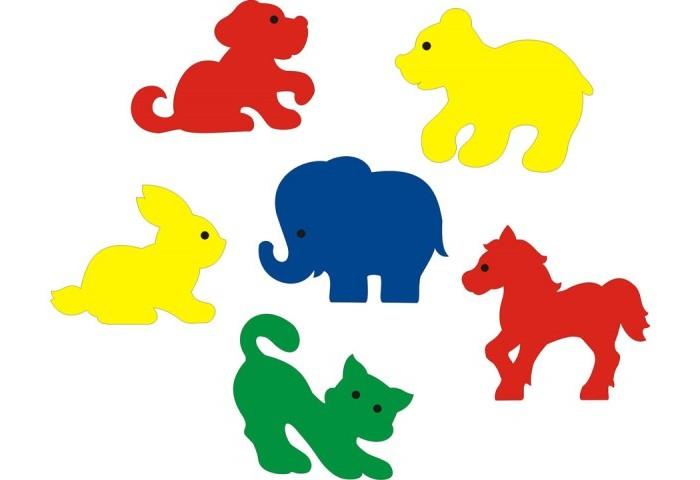 Игрушки для ванны Флексика Мозаика набор для ванны Мир животных игрушки для ванны мозаика синтез книжка для купания купашки кит
