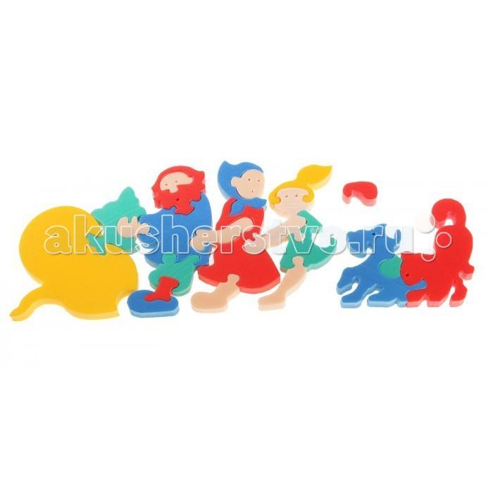 Пазлы Флексика Мозаика сказка Репка игрушки для ванны флексика мозаика набор для ванны замок