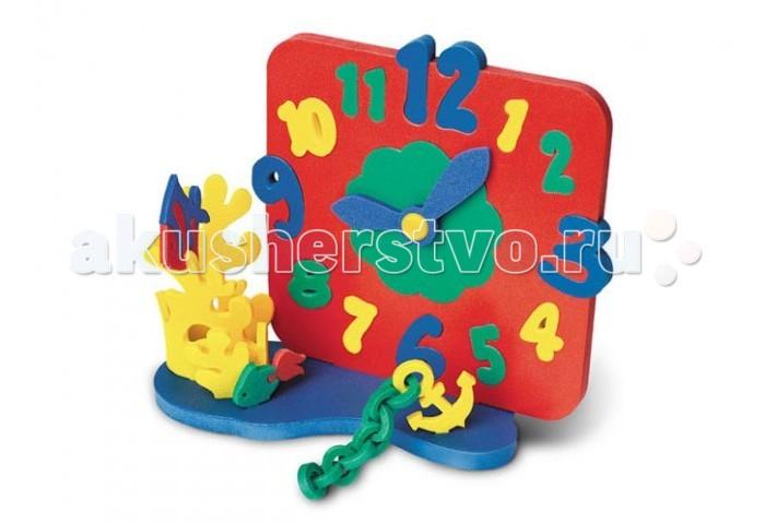 Развивающие игрушки Флексика Часы без механизма Морские развивающие игрушки флексика шнуровка букетик